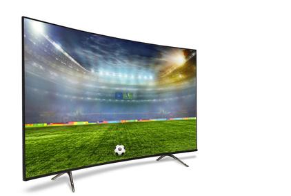 Günstiger 4K Fernseher mit Fußball